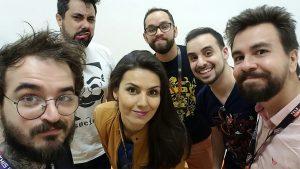 youtubers na comic con