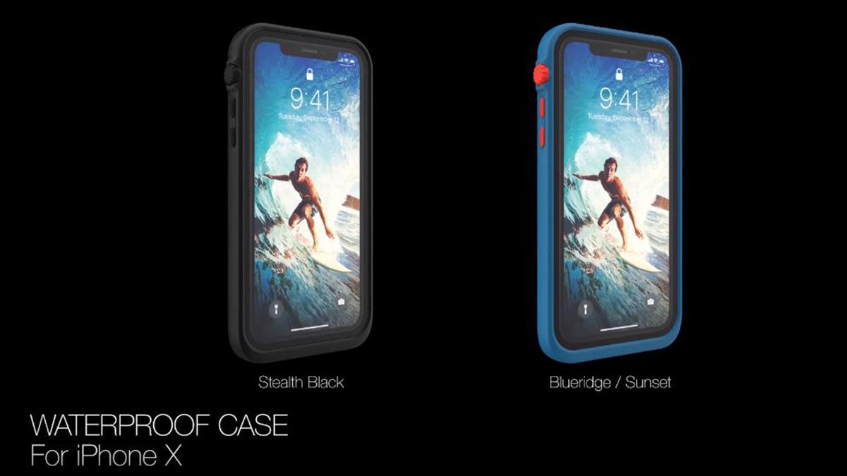 case prova d´água para apple iphone x catalyst