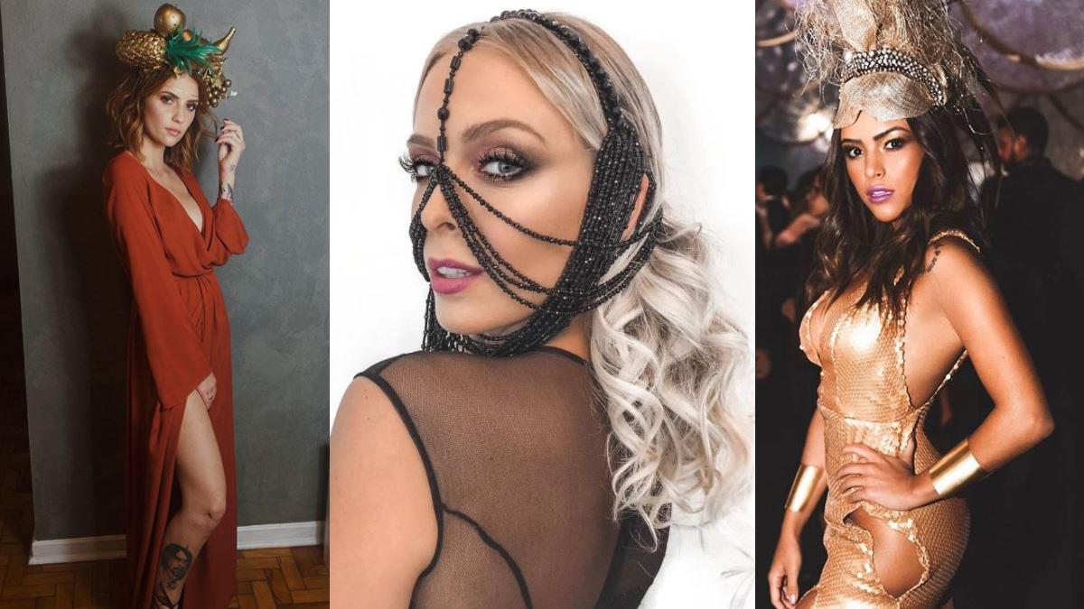 Baile da Vogue Tata Karol Queiroz Gabi Luthai Carnaval