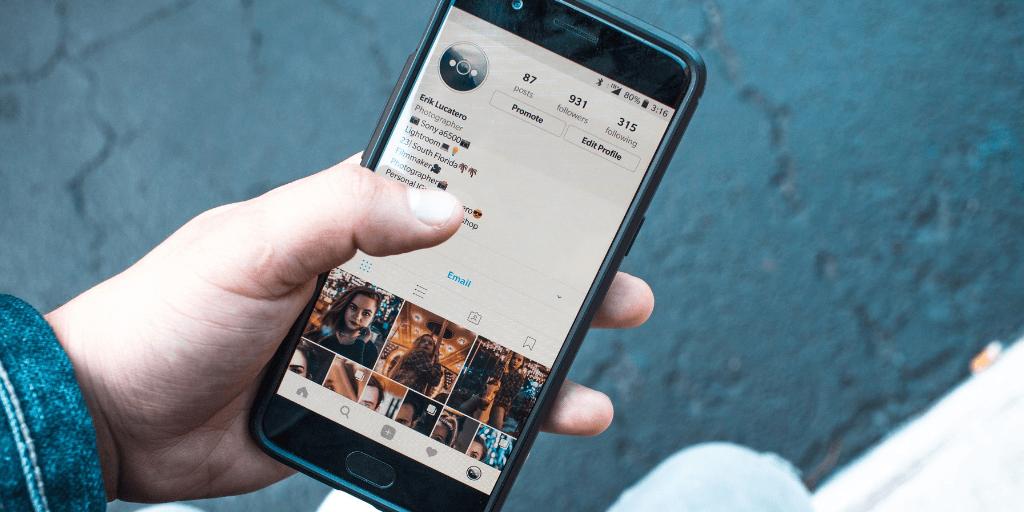 Quanto tempo você passa no instagram