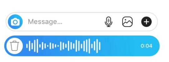 áudios no instagram