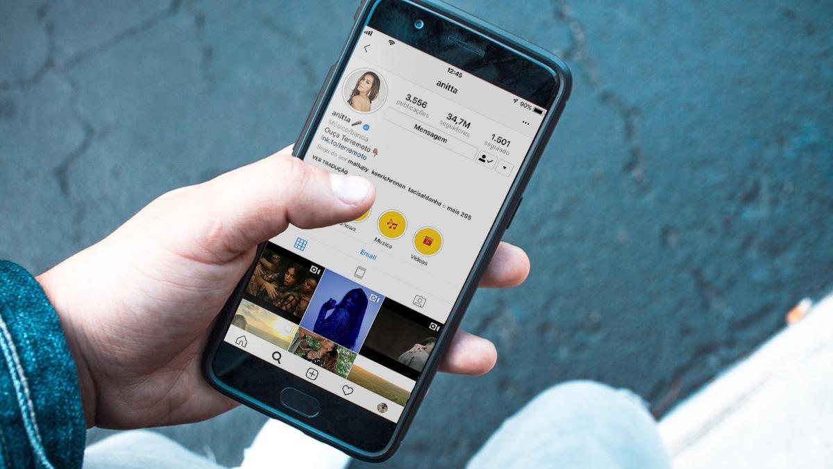 Usuários do instagram relatam queda no número de seguidores