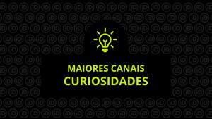 Os maiores canais de curiosidades em 2019