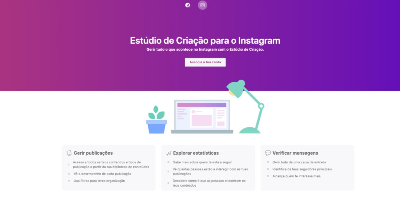 Agendamento de publicações no Instagram