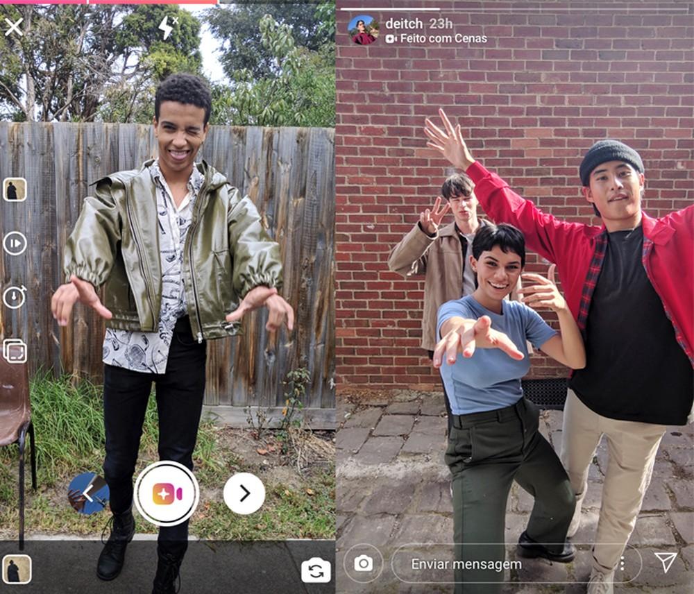 função do instagram